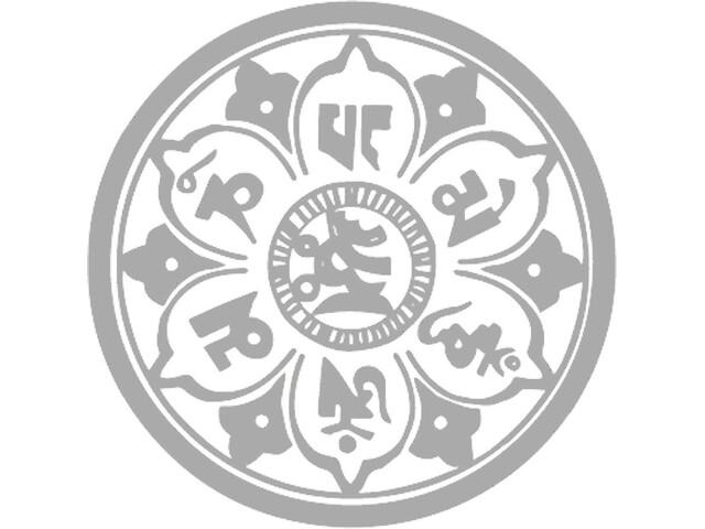 DYEDBRO Mandala Kit Protección Cuadro, transparente/amarillo